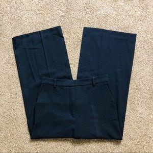 Zara dark blue high waist culottes/wide leg pants